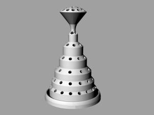 3D print vase