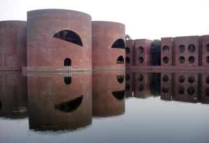 The National Assembly of Bangladesh by Louis Kahn