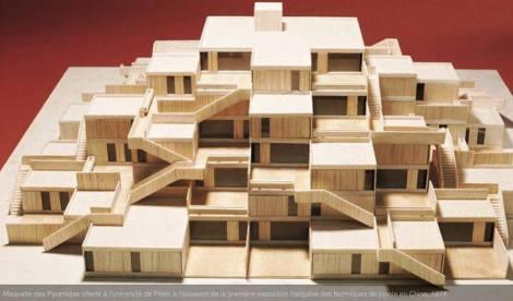 00 BA building complex Résidence Gradins-Jardins, Champs-sur-Marne. 1962-72 Pierre Parat
