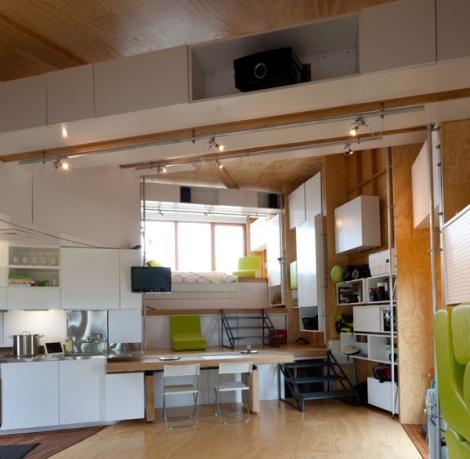 16a CHIP house inside SolarDecathlon