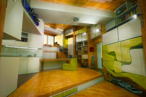 16e chip house home_interior