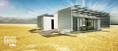 TEAM SCI-ARC:CALTECH solar decat 2013b