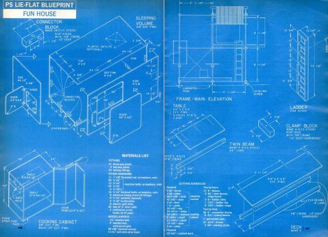 fun house blue plan