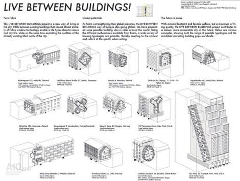 live between buildings interstice