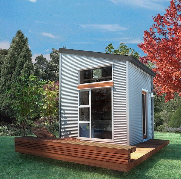 nomad micro home1 - Tiny House Kits