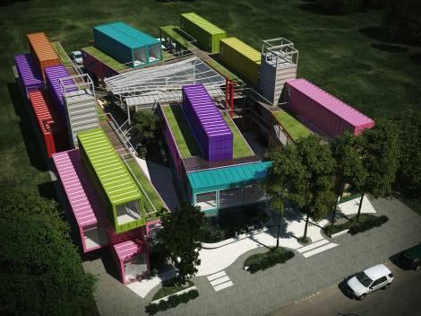 Quo Container Center, en Escobar, Buenos Aires