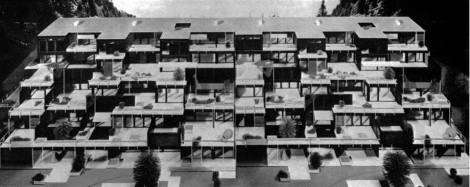 System 2000%22 Prefabricated Terraced House (Project), Begun 1964 Jochen Brandi, Peter Schawanitz, Kurt Duwe, Hans Gladischefski, Gerhard Mietzner, Gebhard Schramm