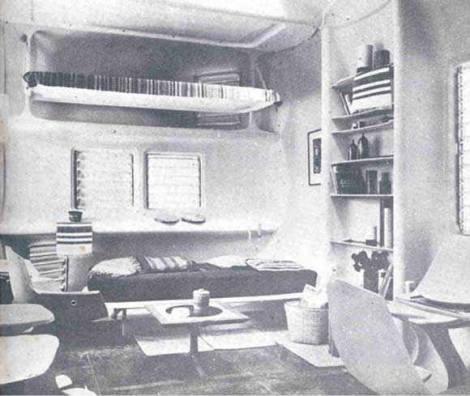 Vivienda experimental en materiales laminares, Cuba... 1964-1968 Mercedes Álvarez y Hugo D'acosta3