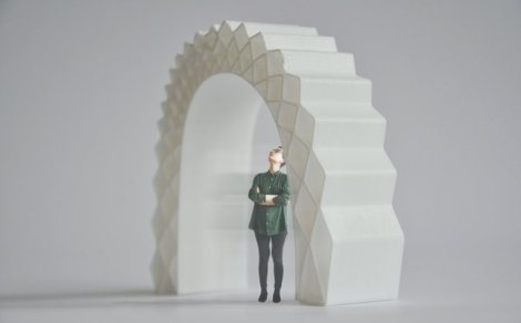 3D print canal house section