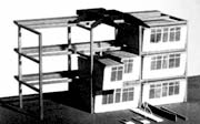 Homes in Frames, Wells Coates' 1946 project, building 1