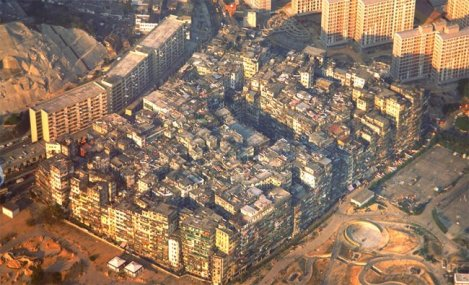 Hong Kong's Kowloon Walled City slum