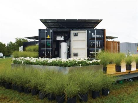 Team China designed the Y Container house 1