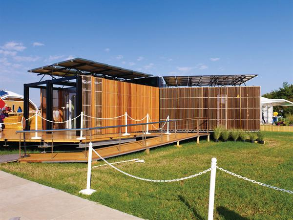 ... into a cheap Solar-Powered House (2011) | ___ architecture for the 99