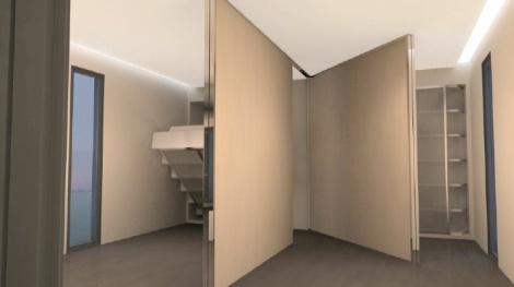 Team China's Y Container solar hosue bedroom