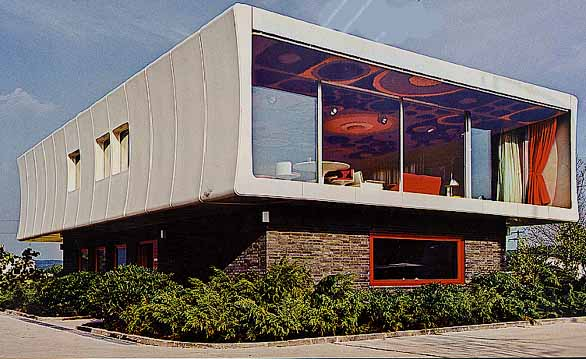 Looking back fiberglass house 1970 development design for Architecture 1970