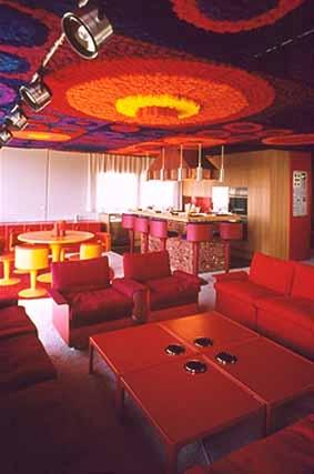 Fiberglas Haus 1970, Entwicklung, Design und Musterhaus- FG Design Wolfgang Feierbach05
