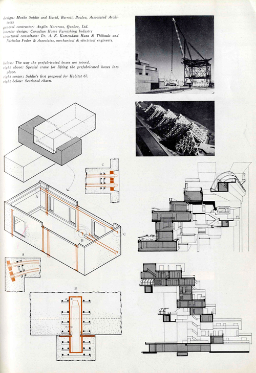 Looking back concrete modular prefab habitat 67 for Construction habitat