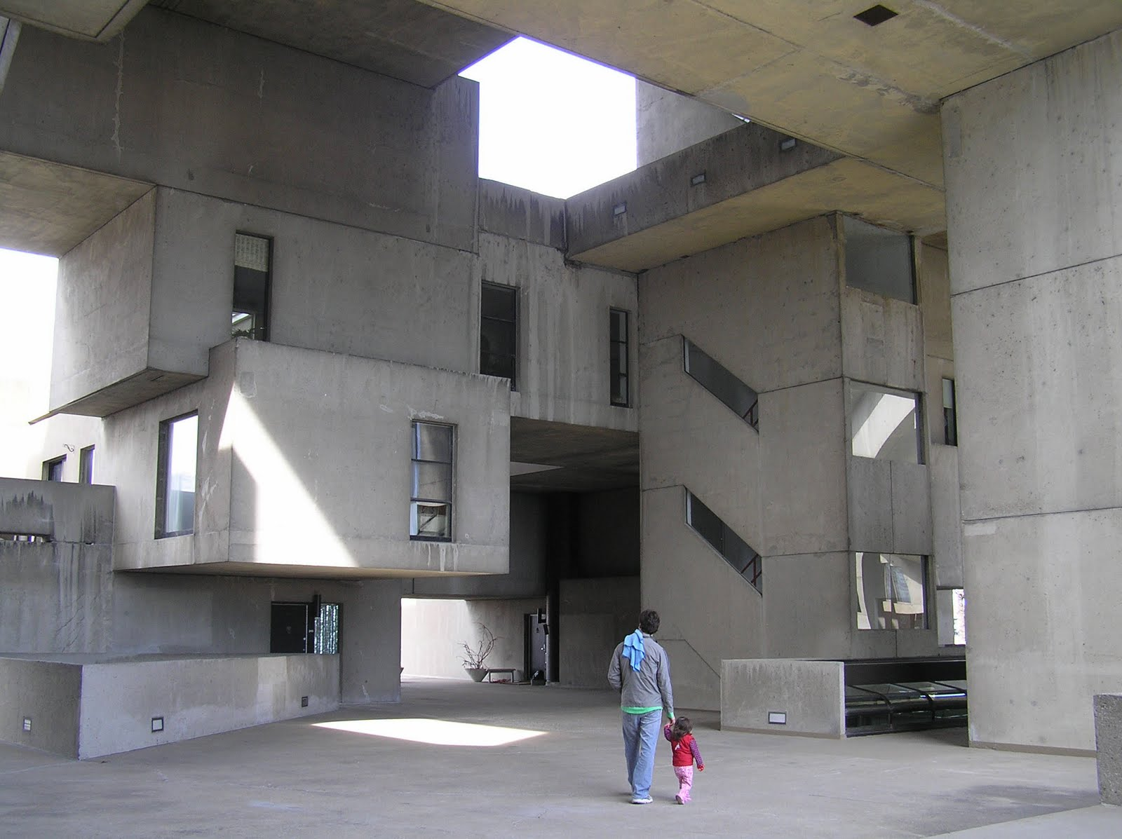 Looking Back Concrete Modular Prefab Habitat 67