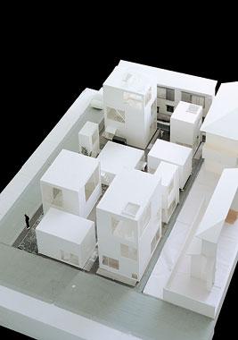 Density inspiring housing tokyo moriyama house by for Model architecture maison