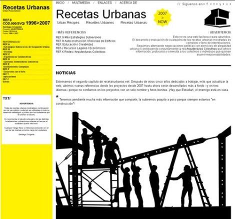 recetas urbanas workshop