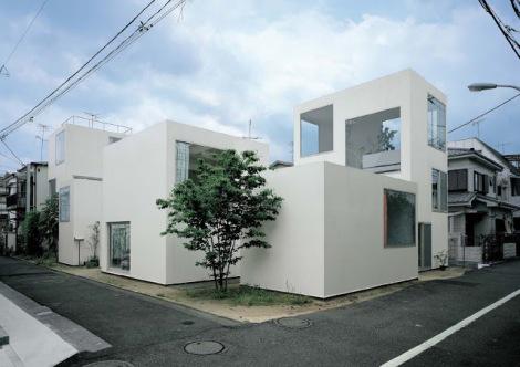Tokyo (Moriyama House van Ryue Nishizawa - SANAA 10
