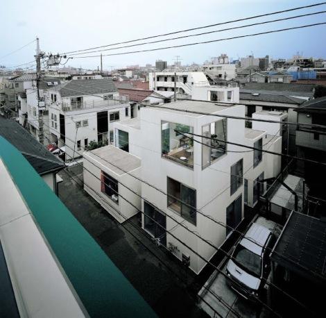 Tokyo (Moriyama House van Ryue Nishizawa - SANAA 11