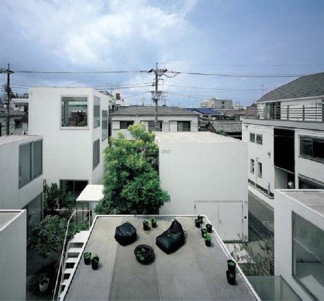 Tokyo (Moriyama House van Ryue Nishizawa - SANAA 13