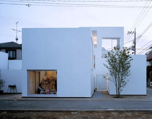 Density inspiring housing tokyo moriyama house by for In design homes