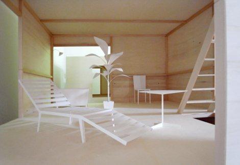 Tokyo (Moriyama House van Ryue Nishizawa - SANAA scaled model2